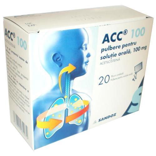 ACC 100mg 20 plicuri