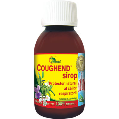 Sirop Coughend 100ml Ayurmed