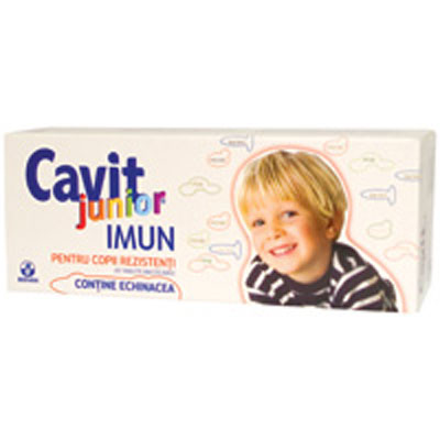 Biofarm Cavit Junior Imun 20 tablete