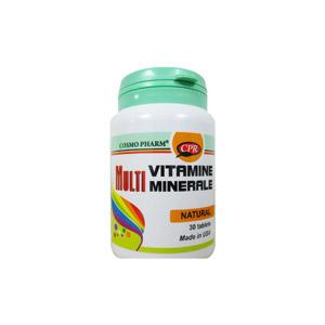 CosmoPharm Multiminerale Si Multivitamine 30cp