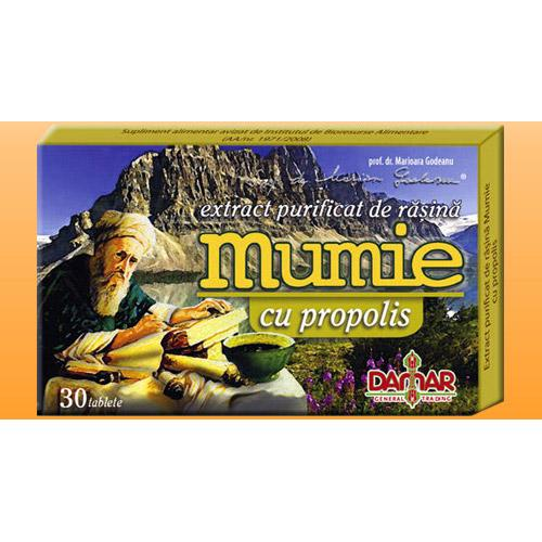 Damar Extract Mumie Propolis 30 tablete