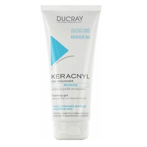 Ducray Keracnyl gel spumant purifiant 200 ml