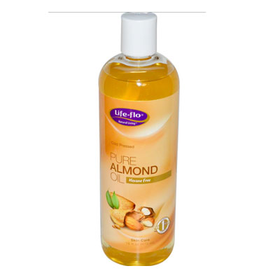 Life Flo Almond Pure Oil 473ml