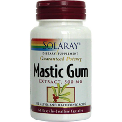 Solaray Mastic Gum Extract 45cps