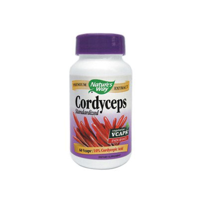 Nature's Way Cordyceps SE - 60 capsule vegetale