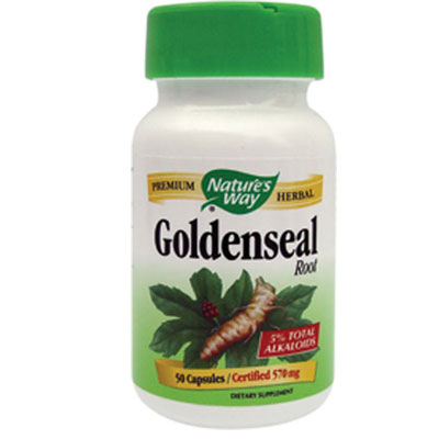 Nature's Way Goldenseal root 50 capsule
