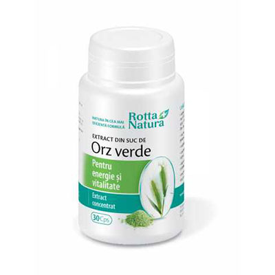 Rotta Natura Extract din Suc de Orz Verde 30cps