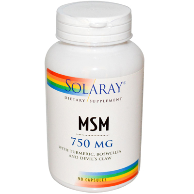 Solaray MSM 750 mg