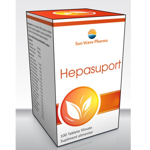 Hepasuport 100 tablete Sun Medic