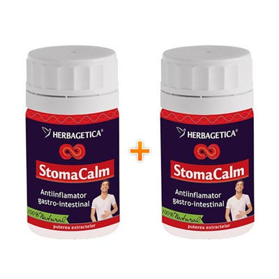 Herbagetica Stomacalm 70 + 30 capsule