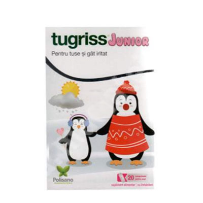 Tugriss Junior 20cpr supt