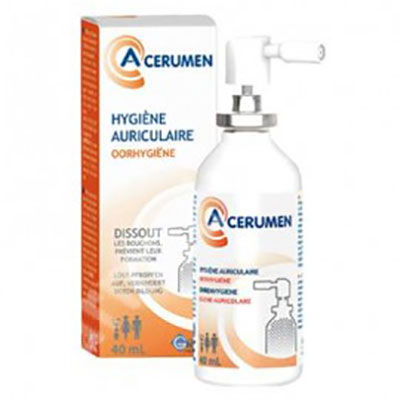 A cerumen spray auricular 40ml