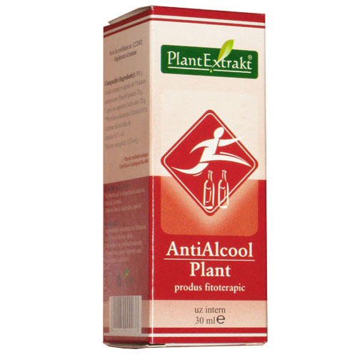 PlantExtract Antialcool Plant 30ml