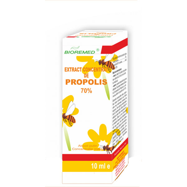 Extract Concentrat de Propolis 70% 10ml Bioremed