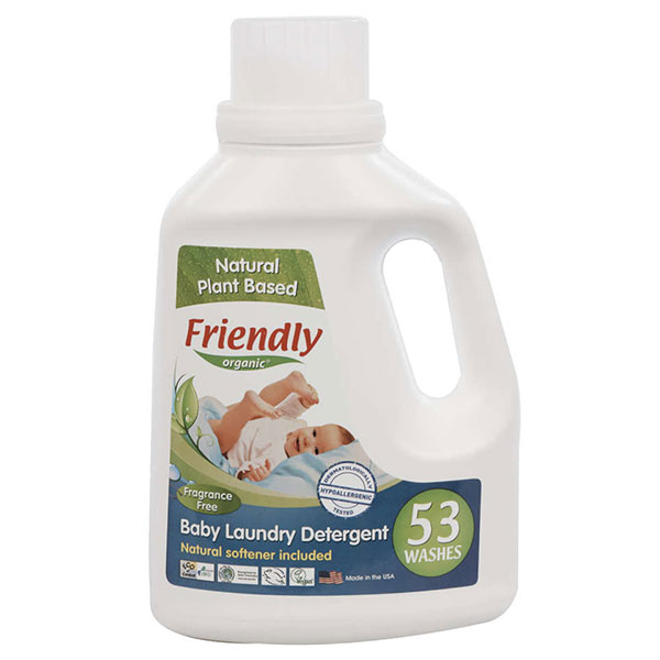 Friendly Detergent rufe bebe fara miros 1567ml