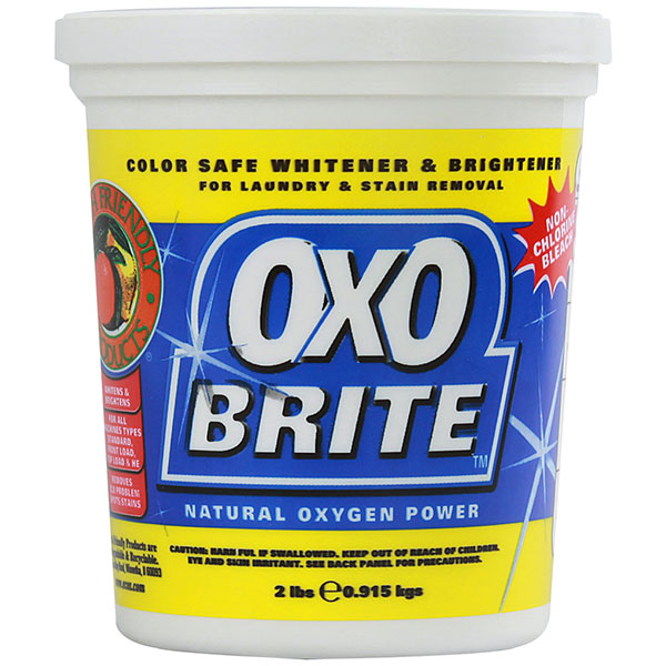 Friendly Detergent rufe praf Oxo Brite 915g