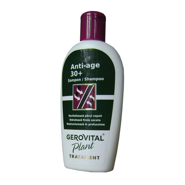 Gerovital Plant Sampon Anti-age 200ml Farmec