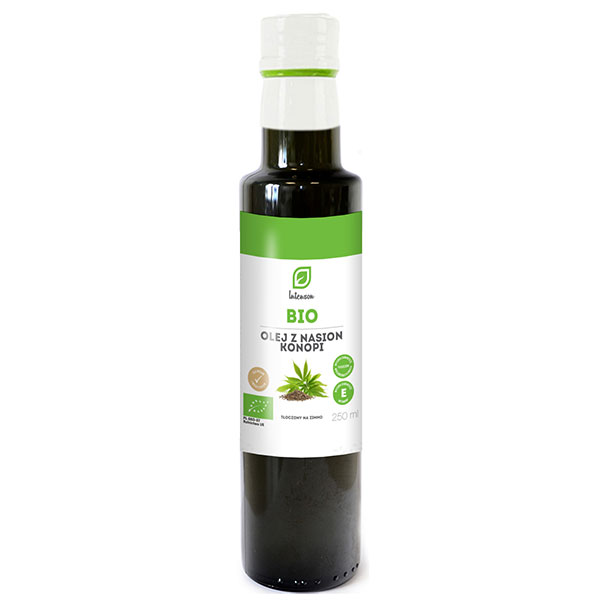 Intenson Ulei de canepa Bio 250ml