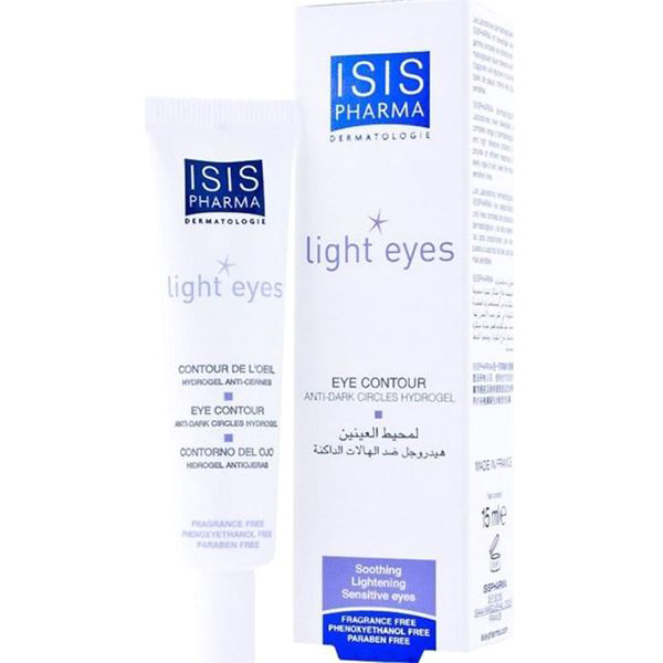 ISISPharma Light Eyes crema contur ochi hydrogel 15ml