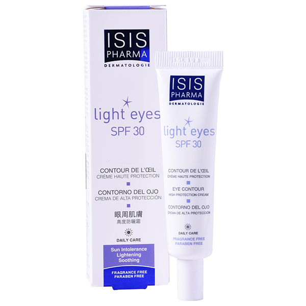 ISISPharma Light Eyes crema contur ochi SPF30