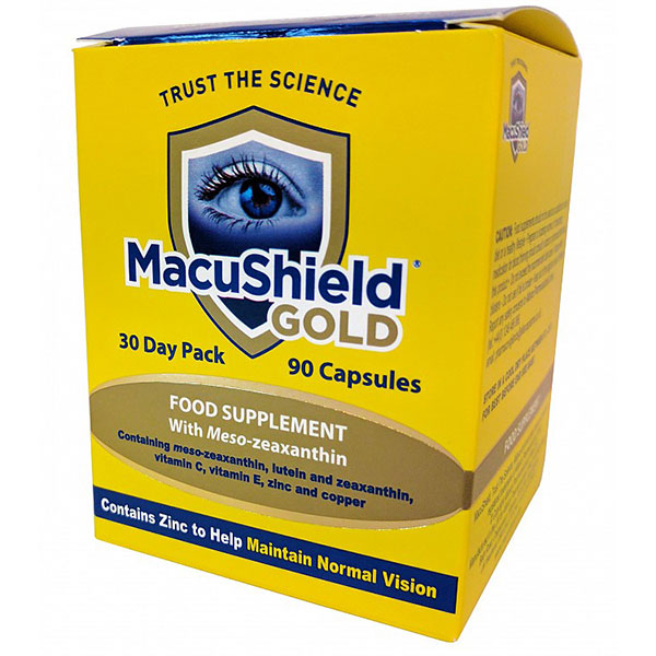 Macuvision MacuShield Gold 90cps