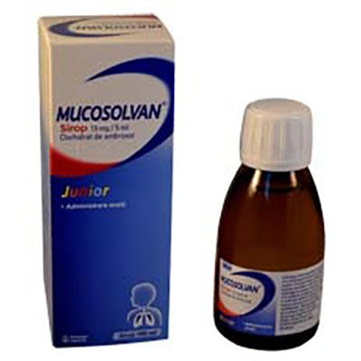 Mucosolvan Junior 15mg/5ml sirop x 100ml