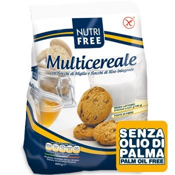 NUTRIFREE MULTICEREALE BISCUITI 400 G