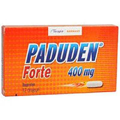 Paduden forte 400mg x 12dr