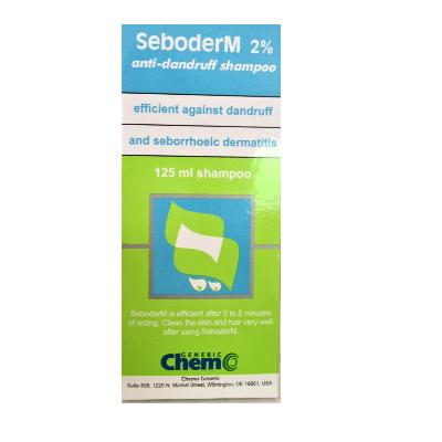 SAMPON ANTIMATREATA SEBODERM 2% 125 ML
