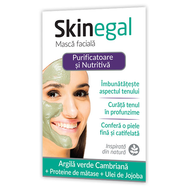 Zdrovit Skinegal Masca faciala purificatoare 20g