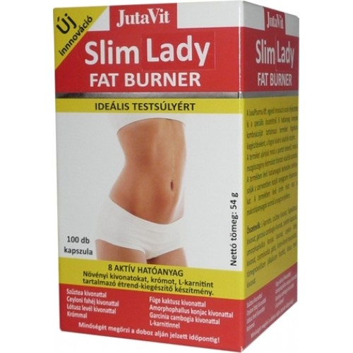 Slim Lady Fat Burner 100cps JutaVit