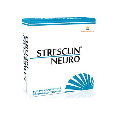 Sun Wave Pharma Stresclin Neuro 60 comprimate
