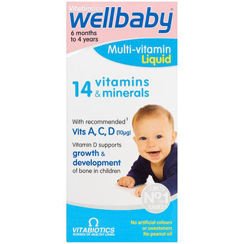 Vitabiotics WELLKID Baby Sirop 150 ml