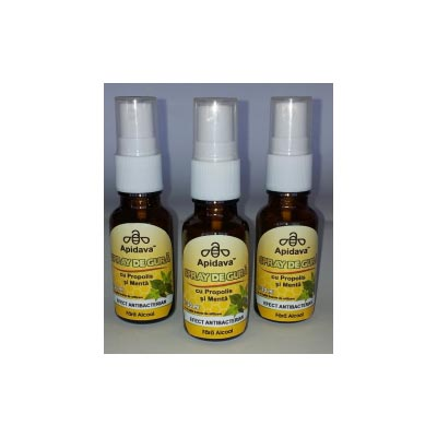 Apidava Spray de gura fara alcool 20ml