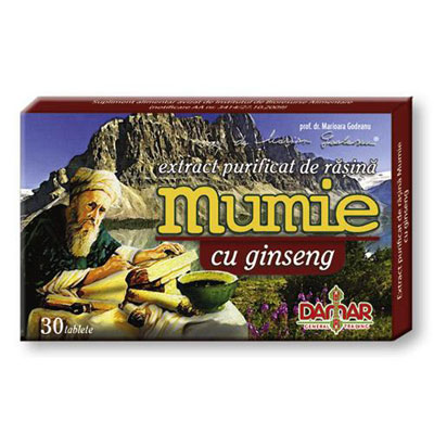 Damar Extract Mumie Ginseng 30 tablete