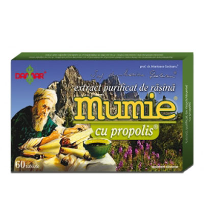 Damar Extract Mumie Propolis 60 tablete