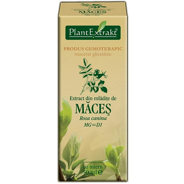 PlantExtract Extract din mladite de maces 50 ml