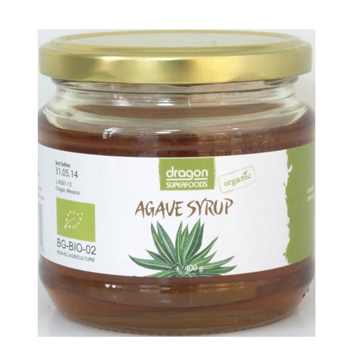 Sirop de agave bio 400g Dragon Superfoods