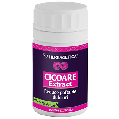 Herbagetica Cicoare Extract 70cps