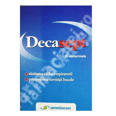 Decasept x 20cp