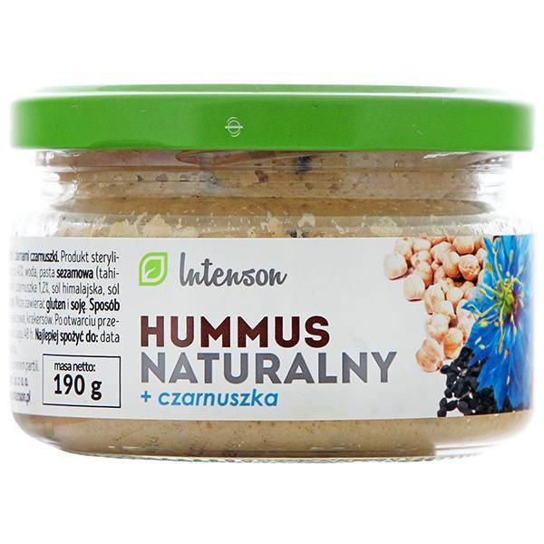 Intenson Hummus natural chimen negru 190g