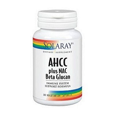 Solaray AHCC plus NAC Beta Glucan 30cps