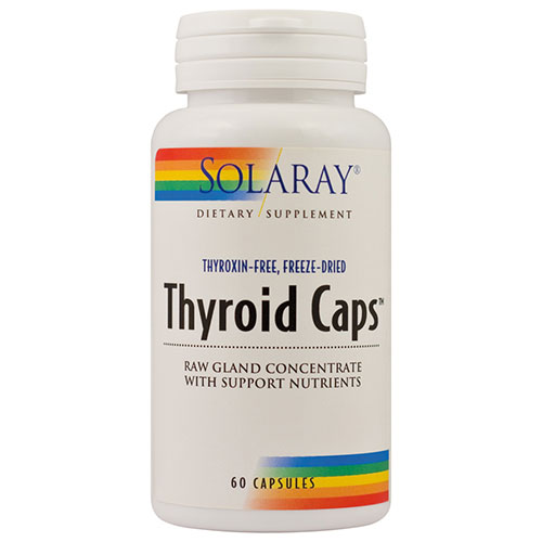 Solaray Thyroid Caps 60CPS