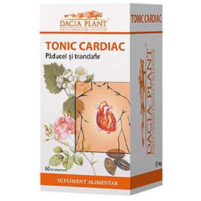 Tonic cardiac Inima puternică, 60 cpr, Dacia Plant