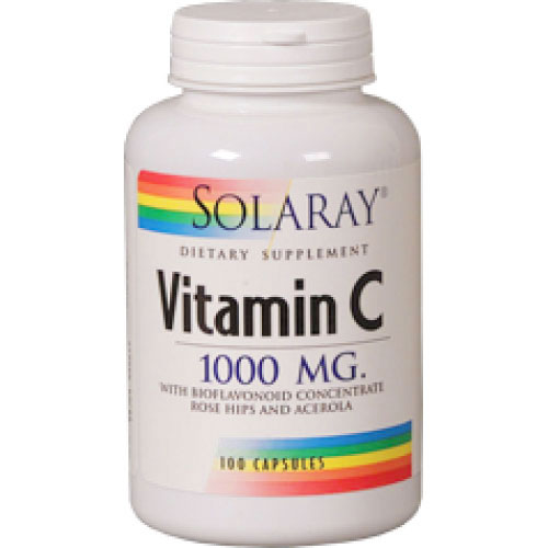 Solaray Vitamina C 1000mg 100CPS
